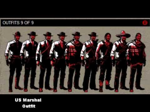 Red Dead Redemption Completion Guide YouTube - Red dead redemption us marshal outfit map