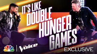 Usher Had Too Much Coffee, Blake Dances and More - The Voice Knockouts 2020 Outtakes