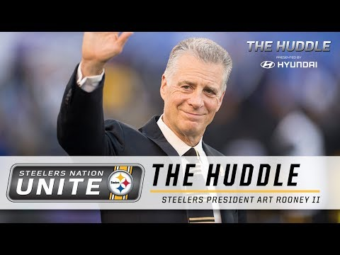 The Huddle: Steelers President Art Rooney II
