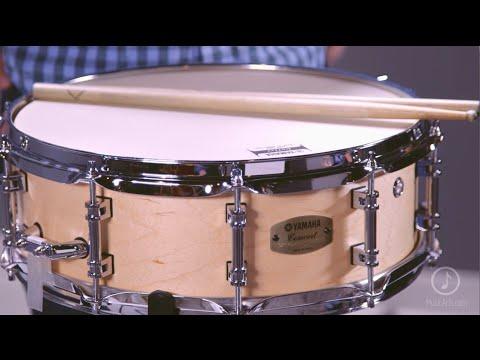 yamaha concert series maple snare drum youtube. Black Bedroom Furniture Sets. Home Design Ideas