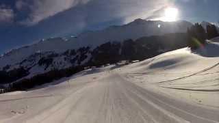 Skiing Valbella 2013