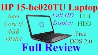 HP 15-be020TU Laptop - Full Review | Som Tips
