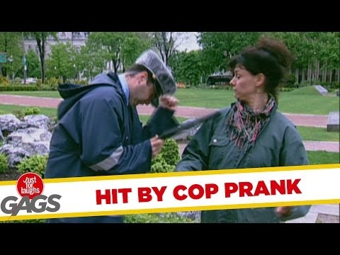 Hit By Cop Prank
