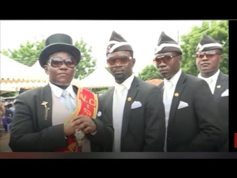 Download Latest Dancing funeral guys carrying coffin pallbearers memes compilation 2020