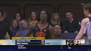 VIDEO - Isaac Likele scores 23, OSU wins at WVU 85-77