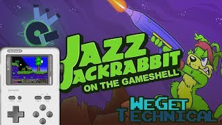 Jazz Jackrabbit On The GameShell: We Get Technical | We Deem