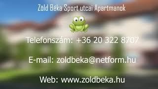 Zöld Béka Sport utcai I. - II. Apartmanok