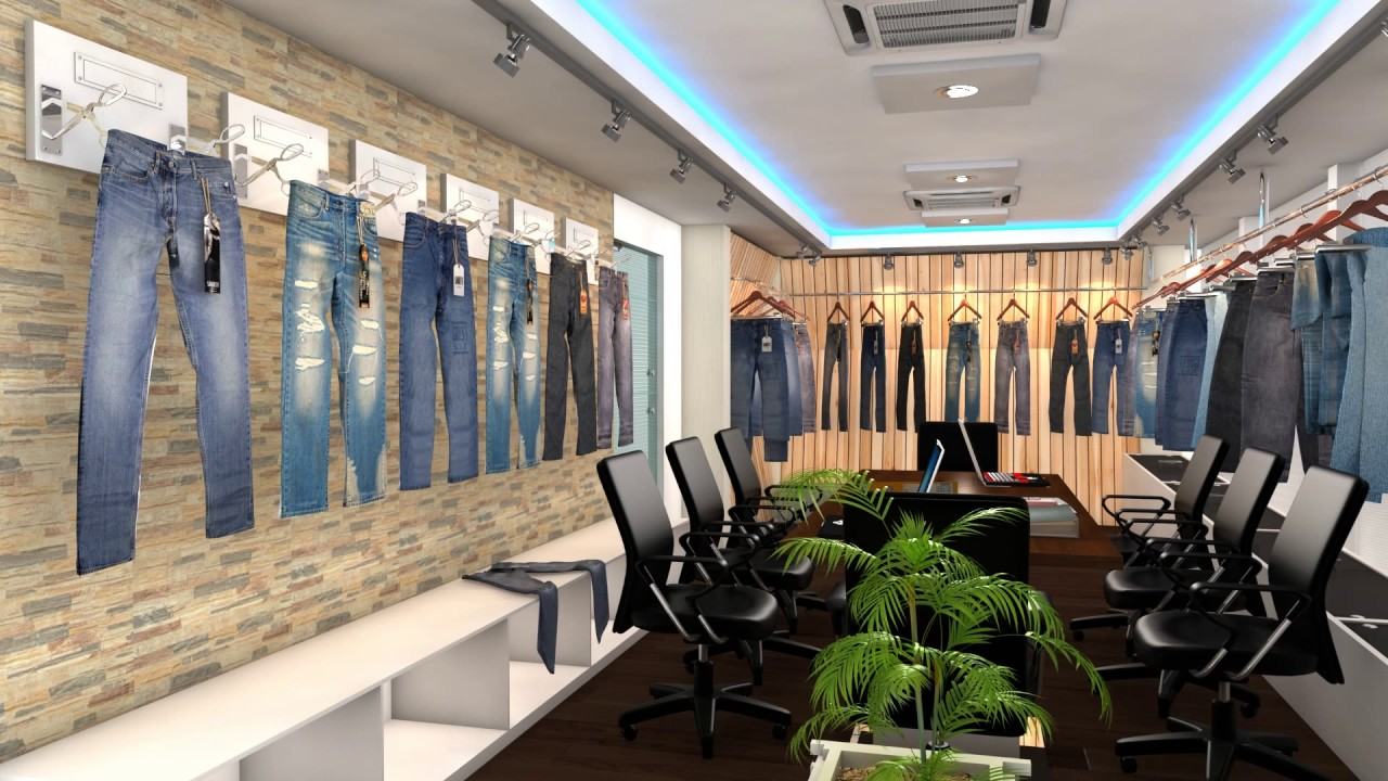 Interior Design Ideas Office for Clothing Boutique-2017 - YouTube