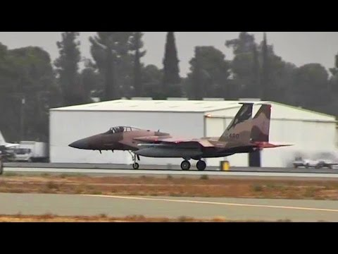 USAF F-15 Launches From Fresno Air National Guard Base