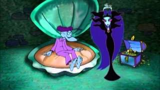 Courage Queen of the Black Puddle Monster Transformation