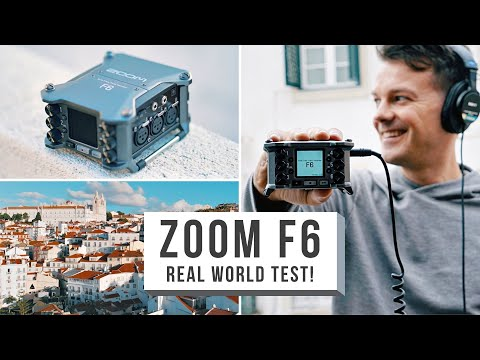 ZOOM F6 FIELD RECORDER REAL WORLD TEST! 192-32 Bit audio... Future Of Field Recording?!