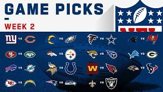 Week 2 Game Picks! | NFL 2020