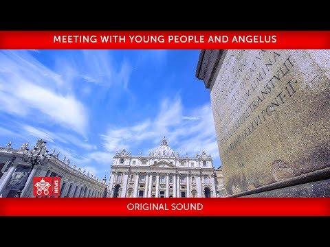 St. Peter's Square, Holy Mass with young Italians