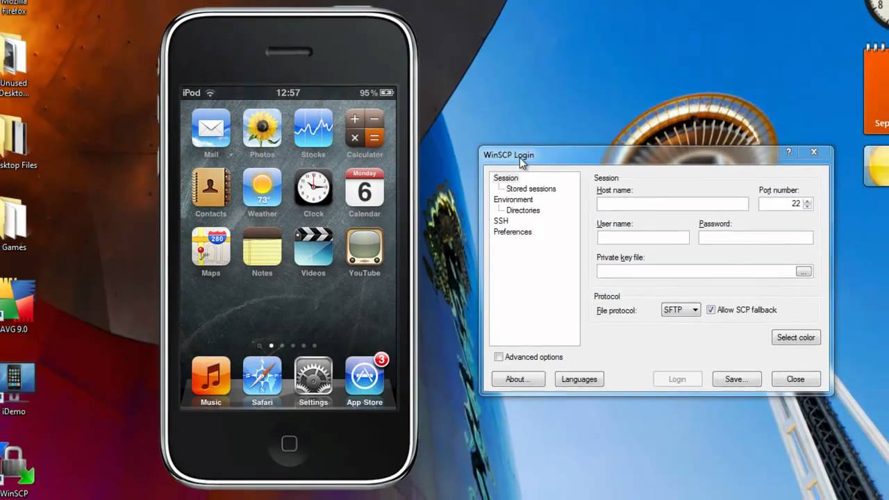 Usbmuxd iphone ssh