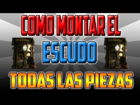ORIGINS || GUIA COMO MONTAR EL ESCUDO || LOCALIZACION DE LAS PIEZAS ...