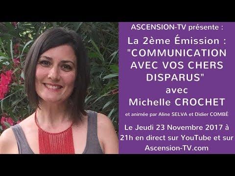 """[BANDE-ANNONCE] 2ème Soirée : """"Communication avec vos chers disparus"""" avec Michelle CROCHET"""