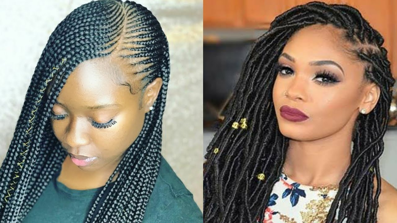 2019 braided hairstyles black