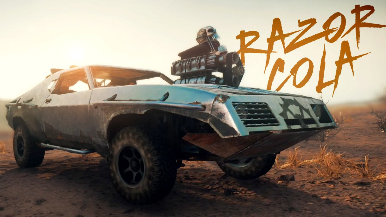 mad max car build razor cola youtube. Black Bedroom Furniture Sets. Home Design Ideas