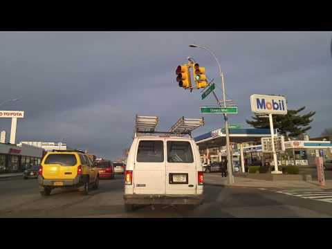 Driving from Richmond Hill to Jamaica in Queens,New York