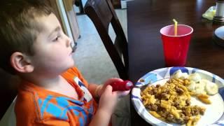 ABA feeding with Dom
