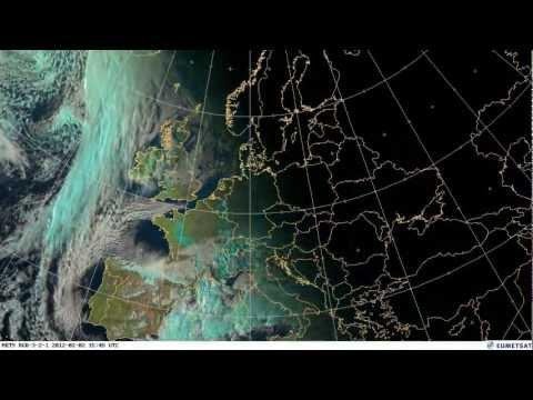 European weather February 2012