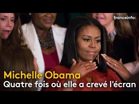 Quatre fois où Michelle Obama a crevé l'écran - franceinfo: