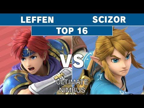 Ultimate Nimbus - TSM | Leffen (Roy) VS Scizor (Link) Top 16 - Smash Ultimate thumbnail