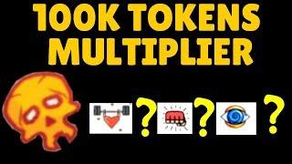 100K TOKENS MULTIPLIER | Super Power Training Simulator ROBLOX
