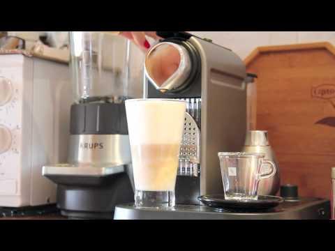 nespresso latte macchiato krups citiz milk youtube. Black Bedroom Furniture Sets. Home Design Ideas