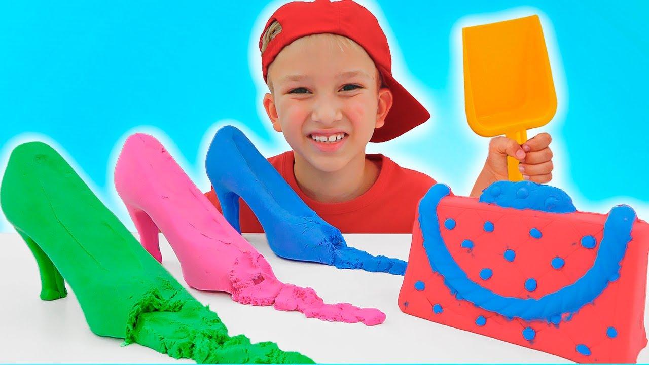 Download Vlad e Niki fanno finta di giocare con il piccolo Chris | Storie divertenti per bambini