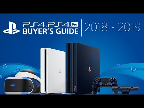 PlayStation 4 Buyer's Guide | 2018 - 2019
