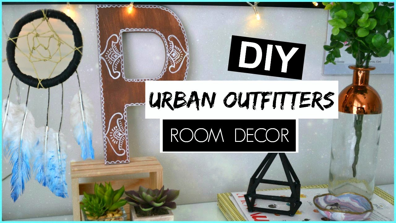 Diy urban outfitters room decor athenian youtube for Room decor urban outfitters