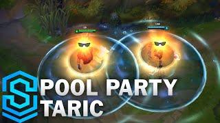 Pool Party Taric Skin Spotlight - Pre-Release - League of Legends