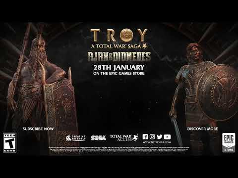 A Total War Saga: TROY Ajax Diomedes Gameplay Reveal |