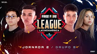 Jornada 2 | Grupo B - #FreeFireLeague | Apertura 2021