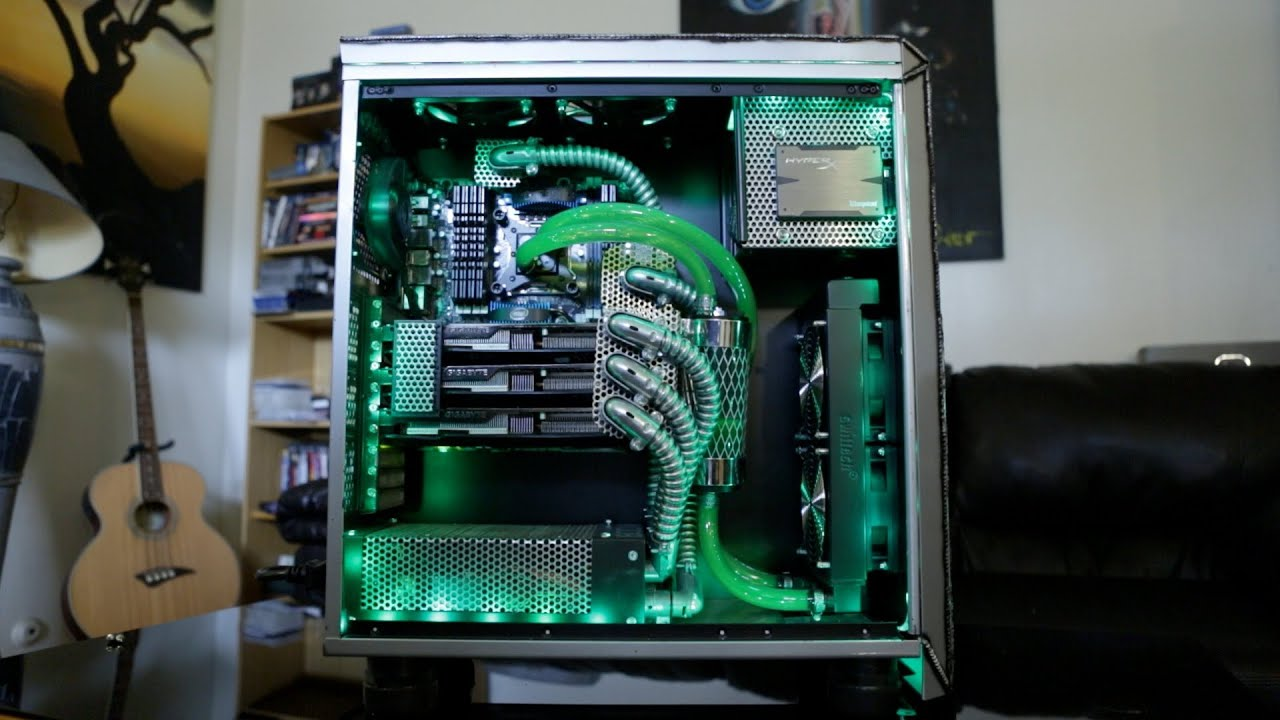 How To Build A Custom Water Cooled Pc