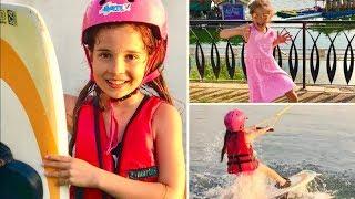 Su Kayağı Vlog. 🏄🏼♀️ Cable Wakeboard. Ecrin Su Çoban ve HÜSO