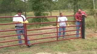 How To Hang A Gate