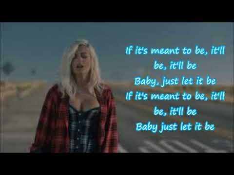 "Meant to be - Babe Rexha & Florida Georgia Line (Lyrics) ""Meant to Be"""