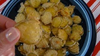 Crispy Fried Dill Pickles - How To Make Fried Pickles With Tempura Batter Recipe