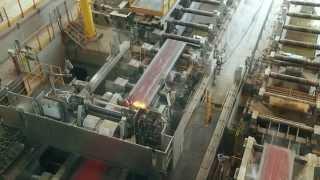 Puesta en marcha de la Nueva Colada Continua de Ternium Siderar