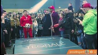 Jesse Lingard Brand Launch x Teqball