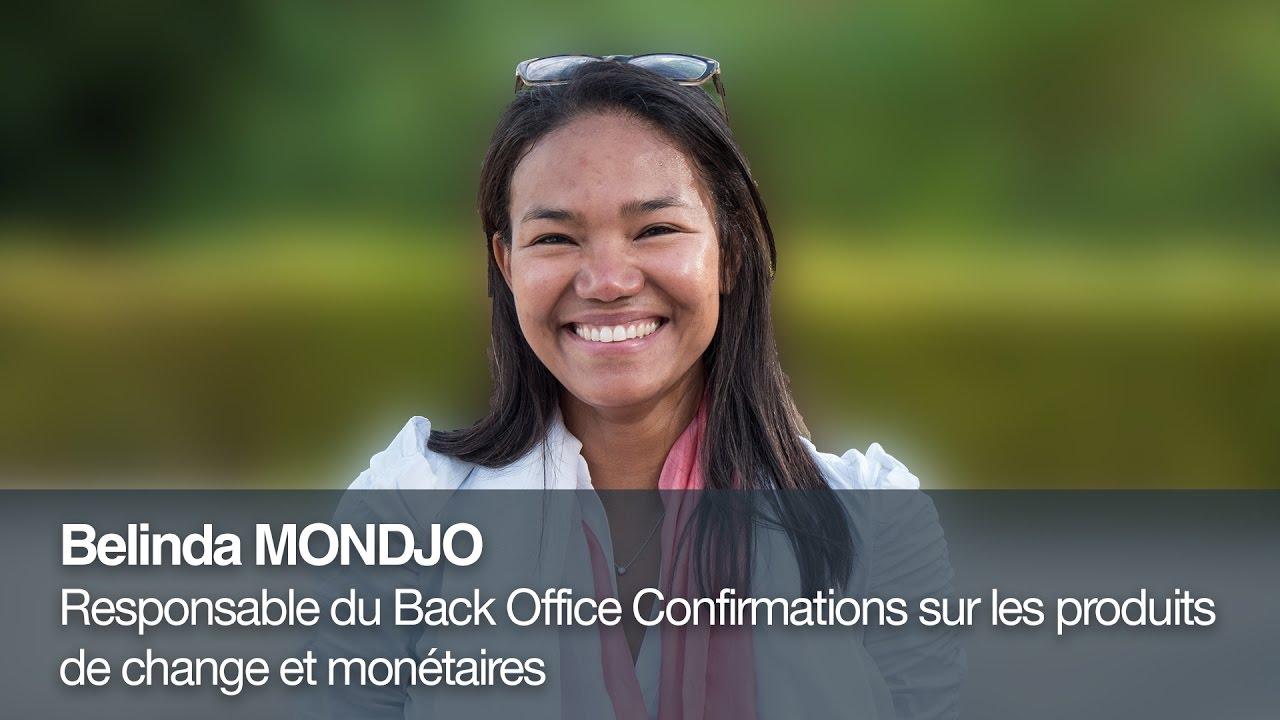 Portrait de collaborateur chez Crédit Agricole CIB : Belinda Mondjo