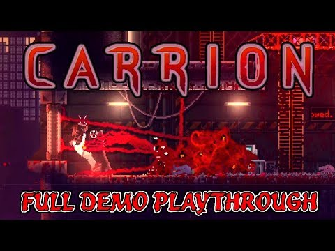 CARRION: Reverse-Horror Game Where YOU Are The Monster! [Full Demo Playhtrough] (no Commentary)