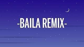 Ozuna, Daddy Yankee, J Balvin, Anuel AA - Baila Baila Baila (Remix) (Letra/Lyrics)