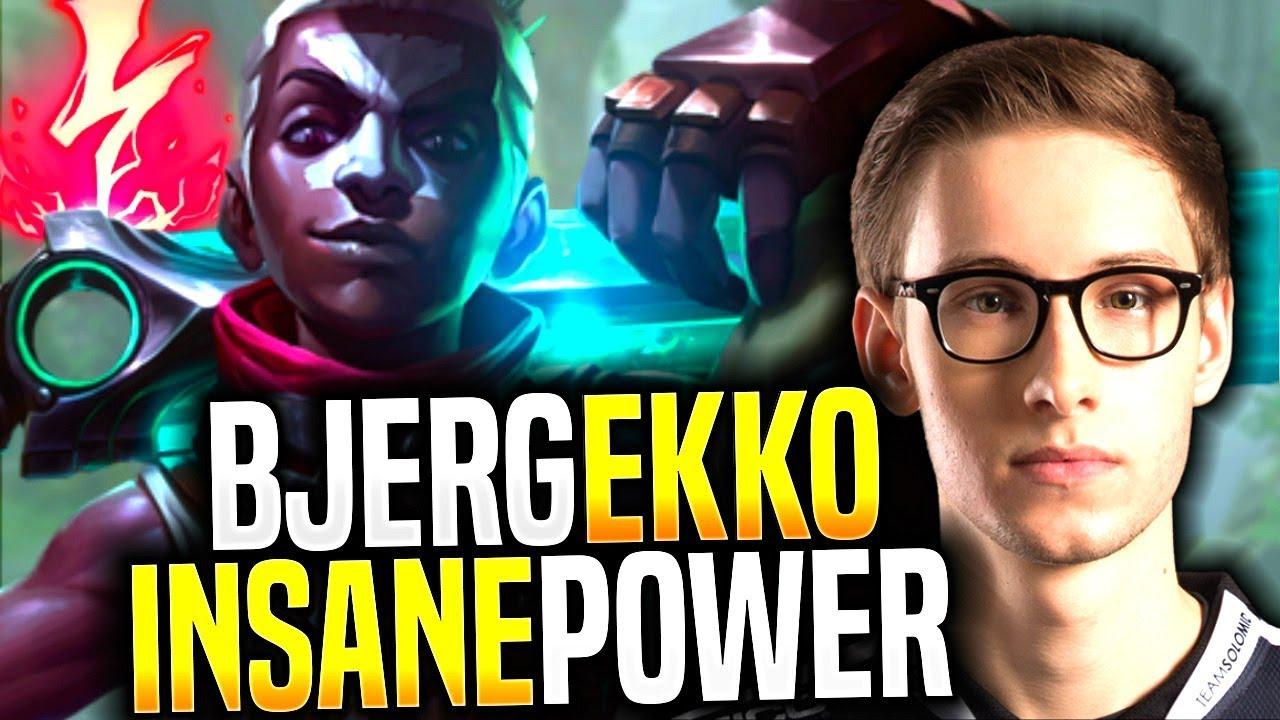 BJERGSEN Showing the POWER of EKKO MID! – TSM Bjergsen Picks Ekko Mid! | Be Challenger