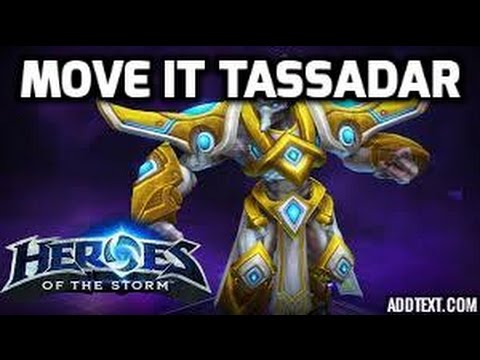 [Heroes of the Storm Gameplay CZ] Tassadar - I like to move it move it