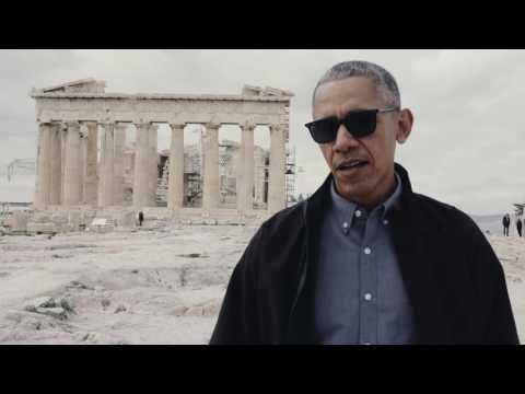 President Obama in Athens, Greece