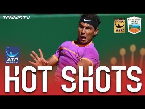 Hot Shot: Nadal Lands Sizzling Passing Shot In Monte Carlo 2017