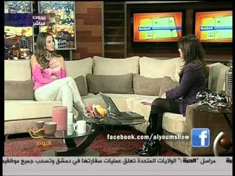 Anabella Hilal live interview on Al Hurra TV